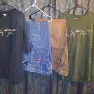 2Dickies Carpenter Jeans 42w 30i,2 Realtree t